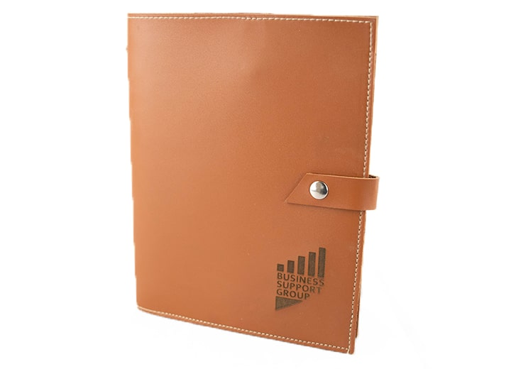 Leather Notebook Sleeve Main Min
