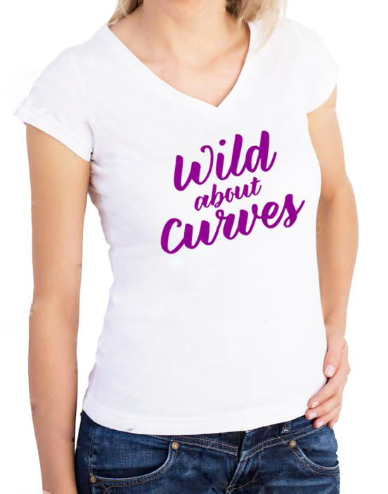 Curves Birthday Shirt White