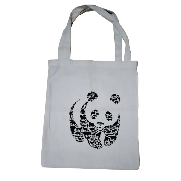 Wildlife Panda Tote Bag