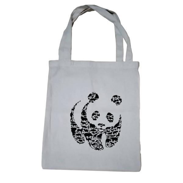Wildlife Panda Tote Bag