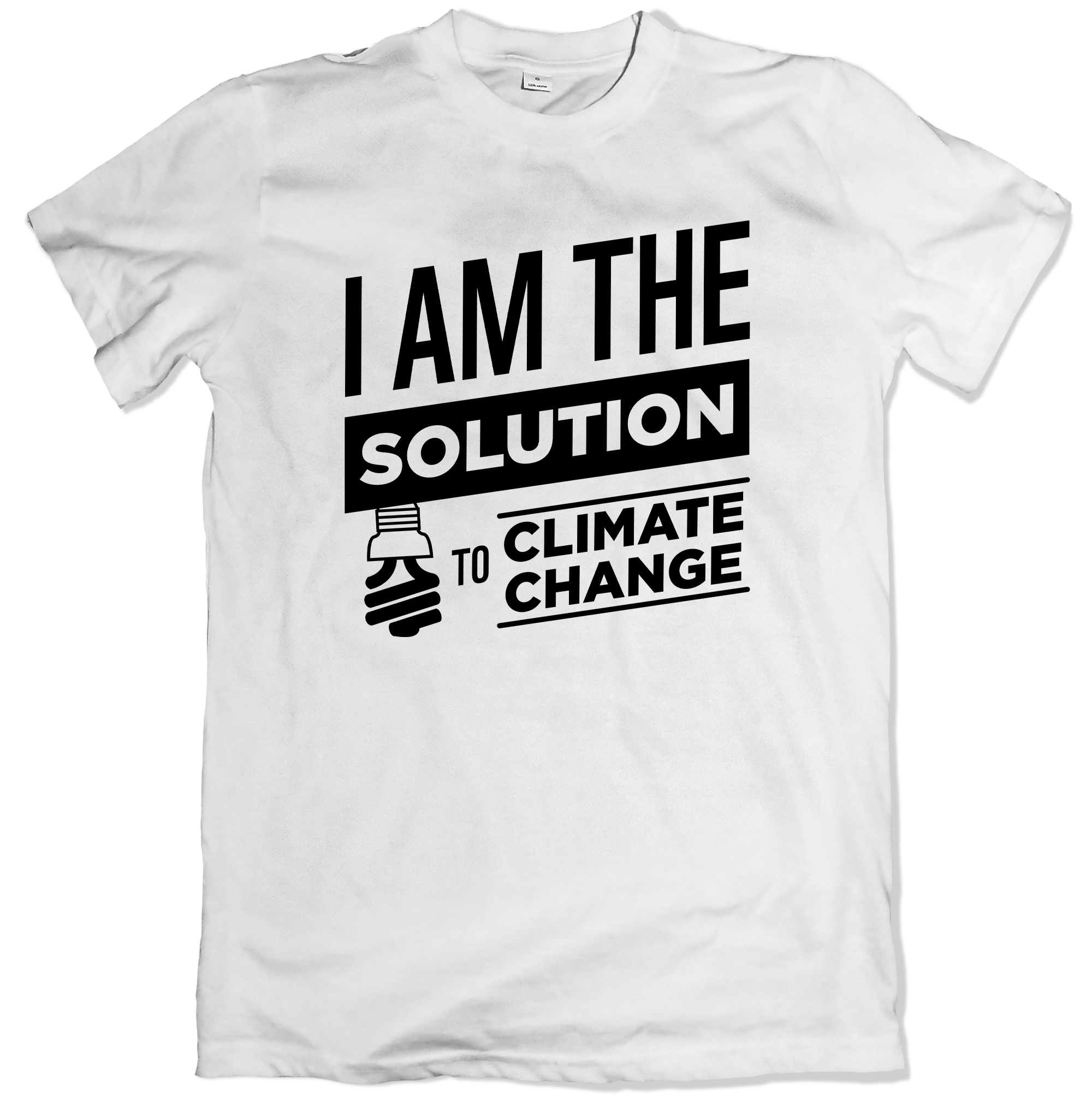 I Am The Solution To Climate Change Front